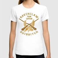 quidditch T-shirts featuring Ravenclaw quidditch team iPhone 4 4s 5 5c, ipod, ipad, pillow case, tshirt and mugs by Three Second