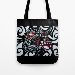 POLY STYLE 49ERS Tote Bag
