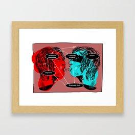 Internalized Framed Art Print