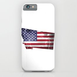 My Heart is in Montana State United States iPhone Case