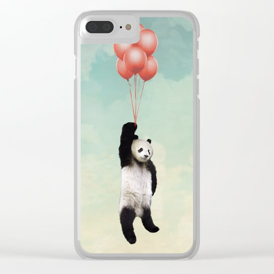Pandalloons *** Clear iPhone Case