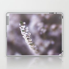 The Smallest White Flowers 02 Laptop & iPad Skin