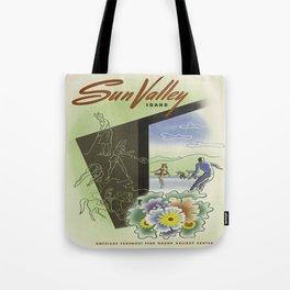 Vintage poster - Sun Valley, Idaho Tote Bag