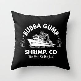 Bubba Gump Shrimp Throw Pillow