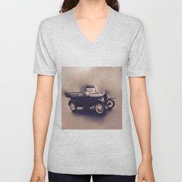 Antique Anderson-Vintage Classic Car Unisex V-Neck