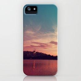Istanbul Gradient Colors iPhone Case