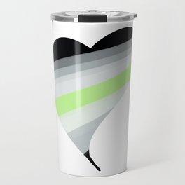 Agender Heart Travel Mug