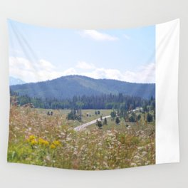 Mountain Bliss Wall Tapestry
