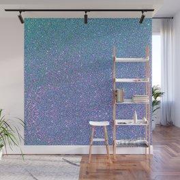 BLUE GLITTER Wall Mural