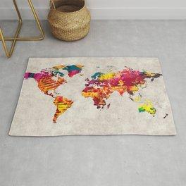World Map 55 Rug
