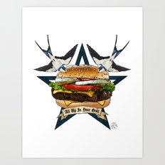 It's Time To Get Grill Art Print