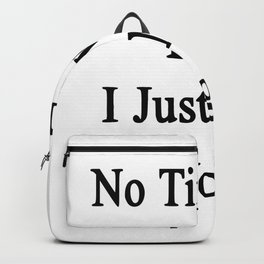 no time for love Backpack