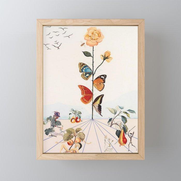 Salvador Dali Framed Mini Art Print