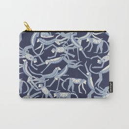 monkey blue Carry-All Pouch