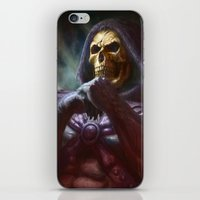skeletor iPhone & iPod Skins featuring Skeletor by ImmarArt