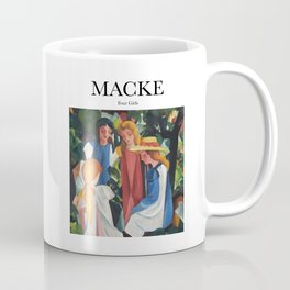 Macke - Four Girls Coffee Mug
