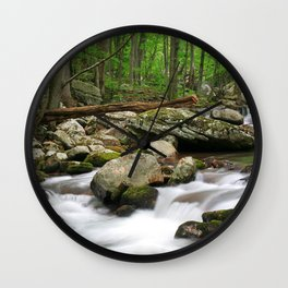 Cool Waters Wall Clock