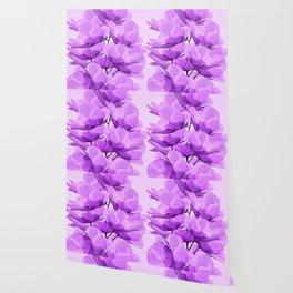 Violet Anemones Spring Atmosphere #decor #society6 #buyart Wallpaper