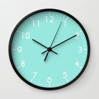 Wall Clocks featuring Blue by Beautiful Homes