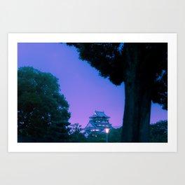 Osaka Dreams Art Print