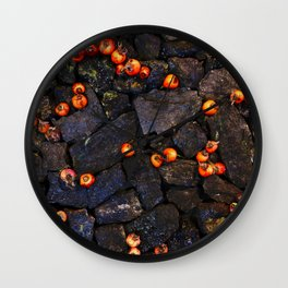 Coal and Hips 01 Wall Clock