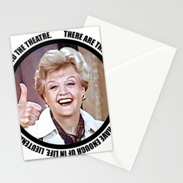 Jessica Fletcher said: There are three things you can never have enough of in life, Lieutenant Stationery Cards
