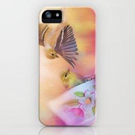Raiding The Teacup - Songbird Art iPhone Case