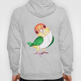 White bellied caique Hoody