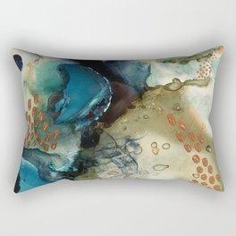 Winter Gold Rectangular Pillow