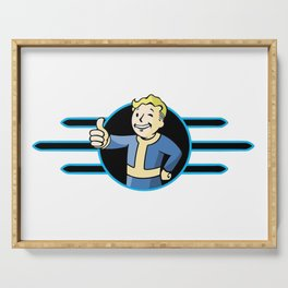 Fallout 4 Vault Boy Thumbs Up Serving Tray