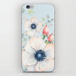 Summer Flowers #society6 #buyart iPhone Skin