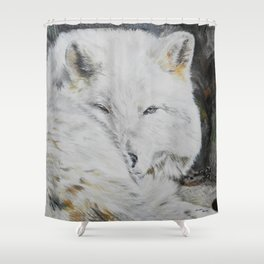 Eye of the Wild by Teresa Thompson Shower Curtain