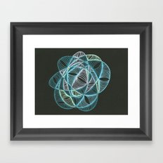 Small Nebula Two Framed Art Print