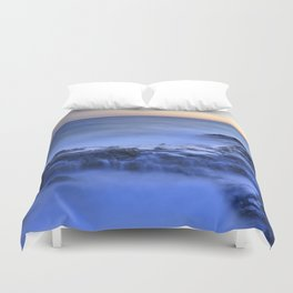 Blue seaside Duvet Cover
