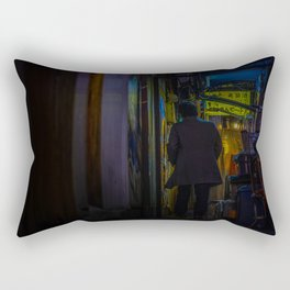Dark Tokyo  Rectangular Pillow