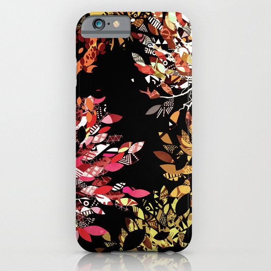 Collage pattern II iPhone & iPod Case
