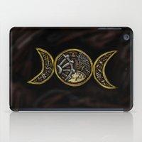 steam punk iPad Cases featuring steam punk goddess  by Shonda Robb