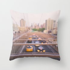 Brooklyn Bound Throw Pillow