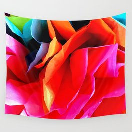 Paper Flower Wall Tapestry