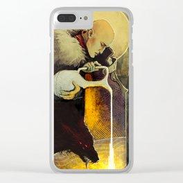 Aquarius Solas Fen'Harel card Clear iPhone Case