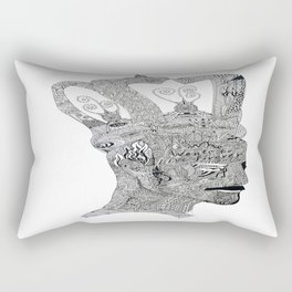 Someone who will live forever Rectangular Pillow