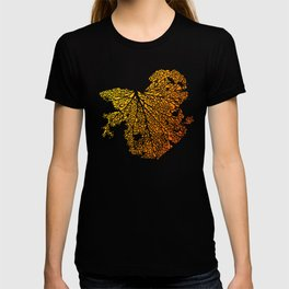 leaf veins T-shirt
