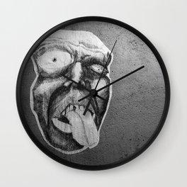 Tongue  Wall Clock