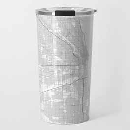 Chicago, United States Minimalist Map Travel Mug