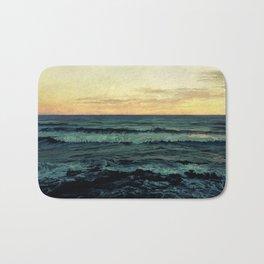 Alamillo Beach Sunset Bath Mat