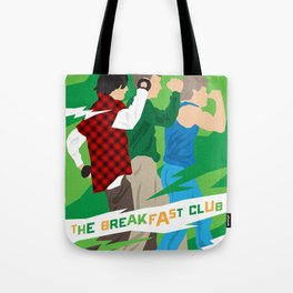 80s TEEN MOVIES :: THE BREAKFAST CLUB Tote Bag