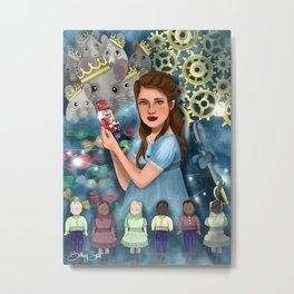 The Nutcracker Illustration Metal Print