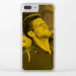 Novak Djokovic Clear iPhone Case
