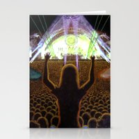 concert Stationery Cards featuring The Concert by Vargamari