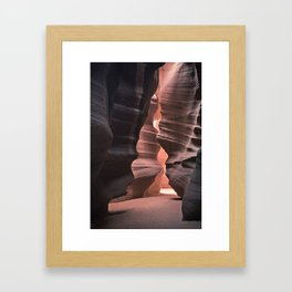 Upper Antelope Canyon-0566 Framed Art Print